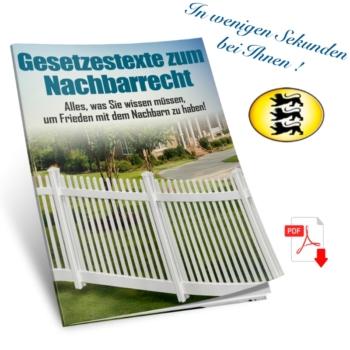Nachbarschaftsrecht in Baden-Württemberg