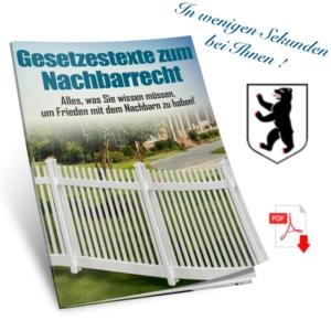 Gesetzestexte Nachbarschaftsrecht Berlin