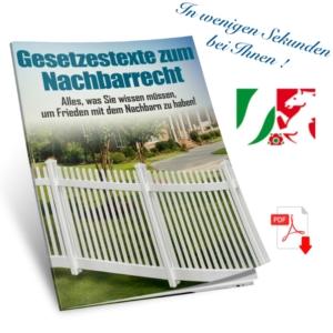 Nachbarschaftsrecht in NRW