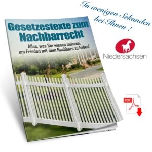 Nachbarschaftsrecht Niedersachsen