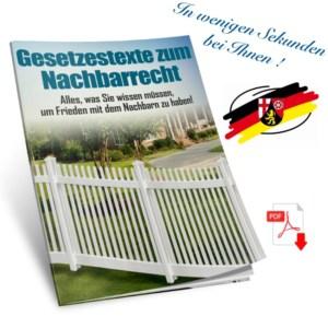 Nachbarschaftsrecht in Rheinland-Pfalz