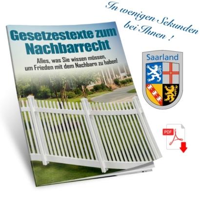 Gesetze zum Nachbarschaftsrecht im Saarland