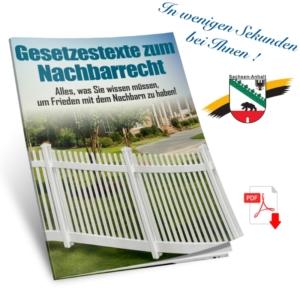 Nachbarschaftsrecht Sachsen-Anhalt