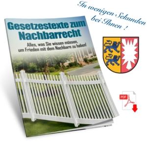 Nachbarschaftsrecht Schleswig-Holstein